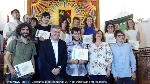 FISS Jaén en la entrega de premios del Concurso Jaén Emprende 2014 de iniciativas empresariales